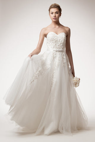 Beautiful Off-White by AG Studio Tulle Wedding Dress - Prom And Bridal Dress House