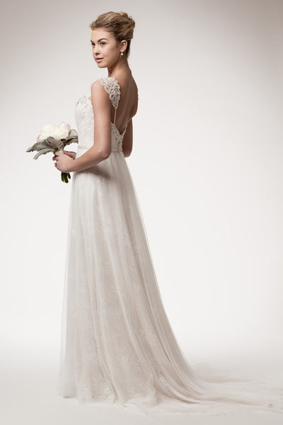 Divine Empire Waist Wedding Dress - Prom And Bridal Dress House