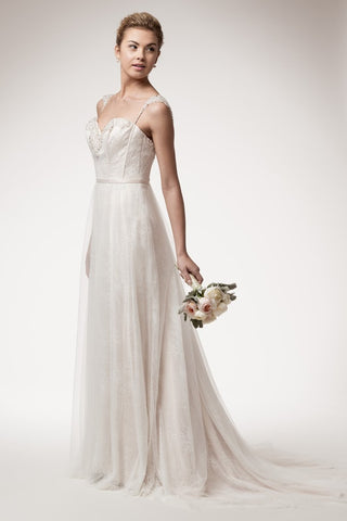 Divine Empire Waist Wedding Dress