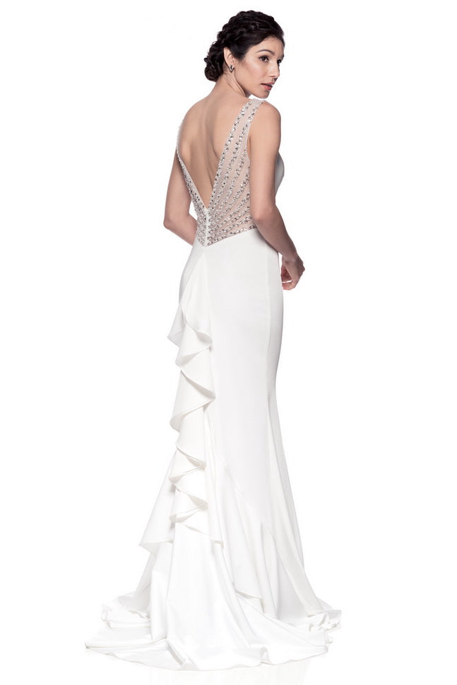 f4d0a6f208e ... Flawless White Wedding Dress - Prom And Bridal Dress House ...