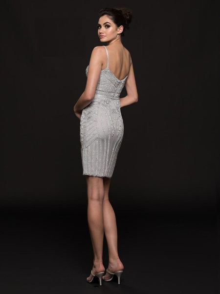 Mesh Short Dress - Prom And Bridal Dress House