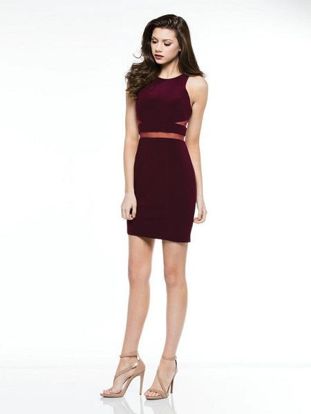 Matte Jersey Short Dress - Prom And Bridal Dress House