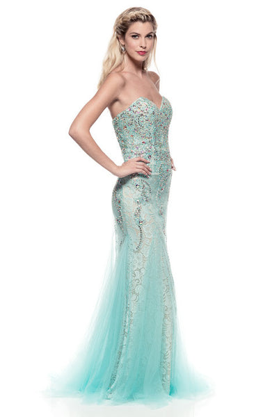 Delicate Prom Evening Dress - Prom And Bridal Dress House