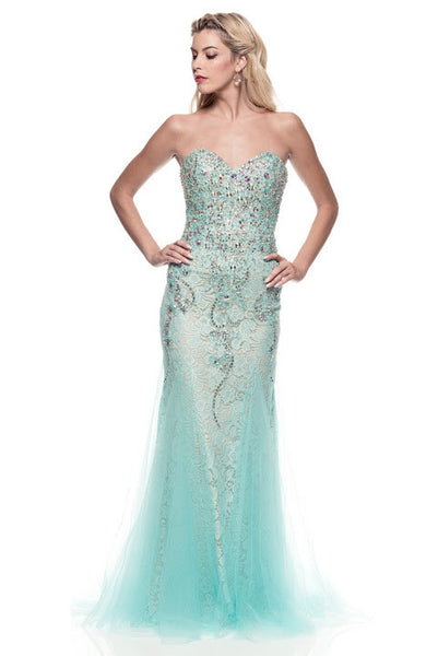 Delicate Prom Evening Party Dress - Prom And Bridal Dress House