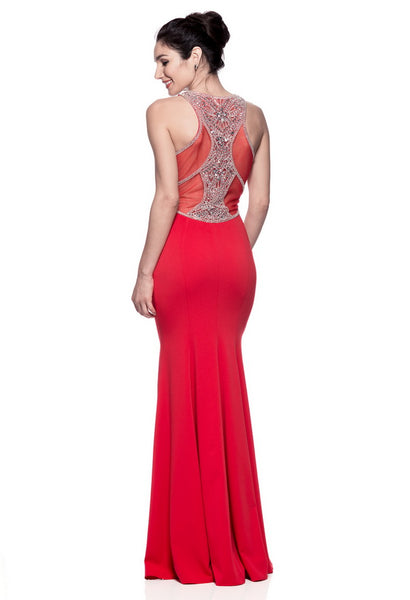 Amazing Red Long Evening Dress - Prom And Bridal Dress House