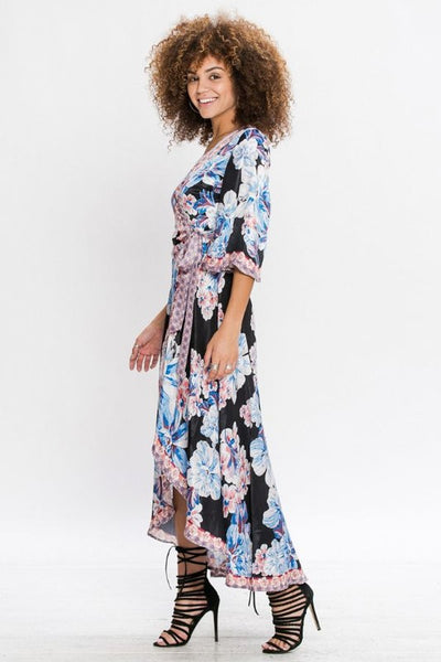 Free Spirit Printed Dress - Prom And Bridal Dress House