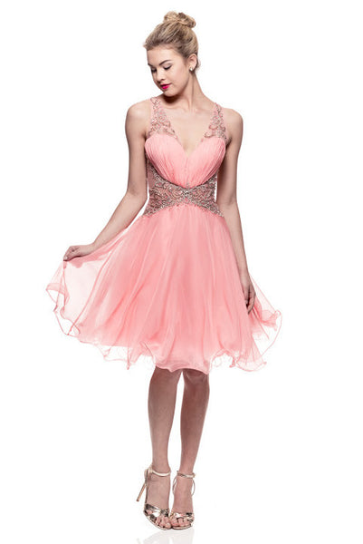 Prom Cocktail Short Dress - Prom And Bridal Dress House