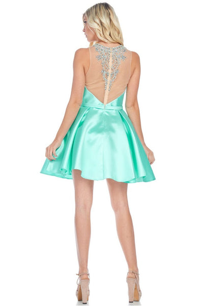 Short Prom Evening Dress