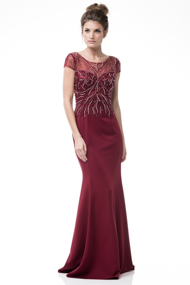 Trumpet Long Evening Dress