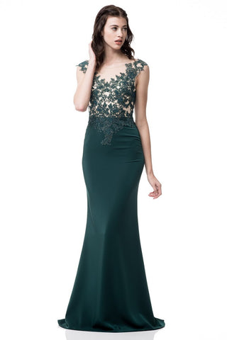 Evening Sheath Long Dress