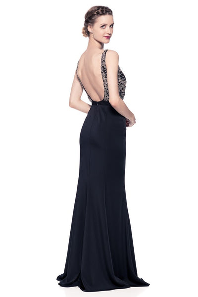 Gorgeous Backless Long Evening Dress - Prom And Bridal Dress House