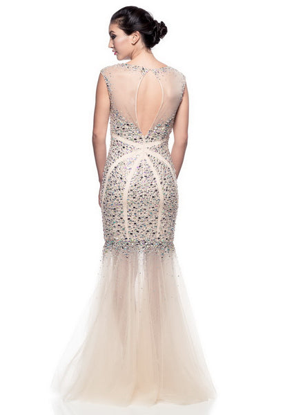 Divine  Long Evening Dress - Prom And Bridal Dress House