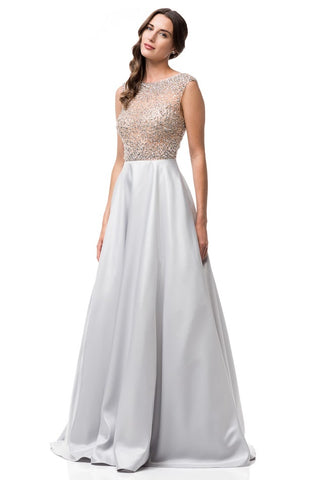 A Line Evening Dress - Prom And Bridal Dress House