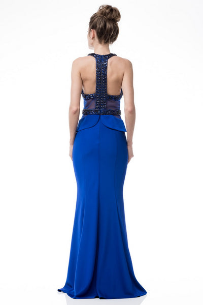 Backless Long Evening Dress - Prom And Bridal Dress House