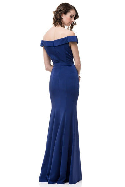 Off Shoulder Mermaid Evening Dress - Prom And Bridal Dress House
