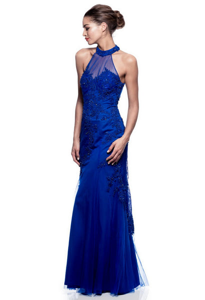 Royal Long Evening Dress - Prom And Bridal Dress House