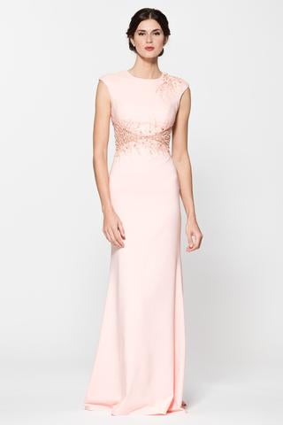 Cap Sleeve Scoop Neck Evening Dress - Prom And Bridal Dress House