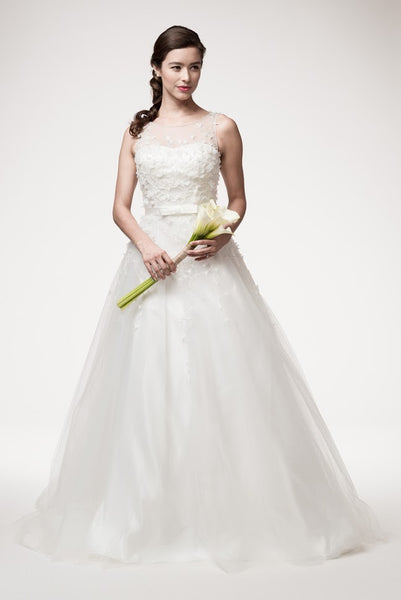 Sleeveless A-Line Bridal Dress - Prom And Bridal Dress House