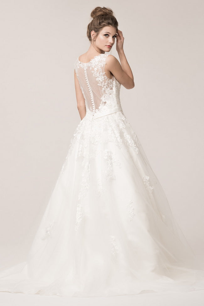 Beautiful Ball Gown Wedding Dress – Prom And Bridal Dress House