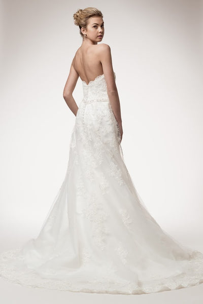 Marvelous Strapless Wedding Dress - Prom And Bridal Dress House
