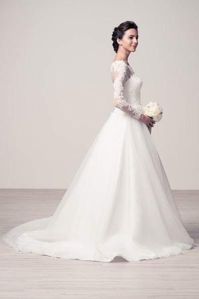 Beautiful Ball Gown Wedding Dress - Prom And Bridal Dress House