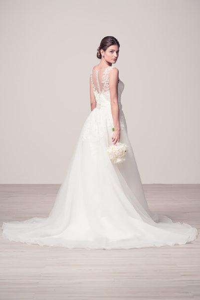 Off White Bridal Dress with an Additional Skirt - Prom And Bridal Dress House