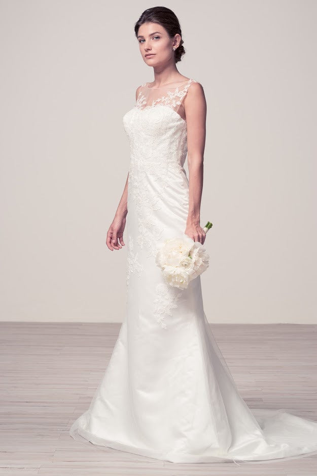 Off White Bridal Dress with an Additional Skirt – Prom And Bridal ...