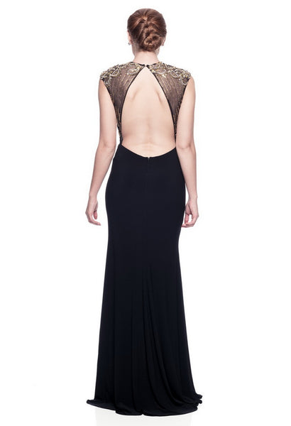 Elegant Back Long Evening Dress - Prom And Bridal Dress House