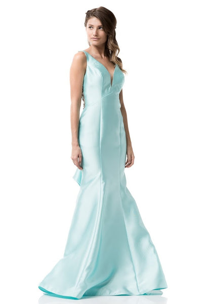 Beautiful Sleeveless Long Evening Dress - Prom And Bridal Dress House