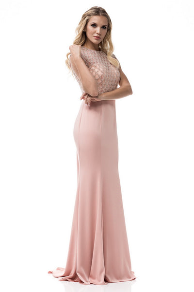 Cute Sheat Long Evening Dress - Prom And Bridal Dress House