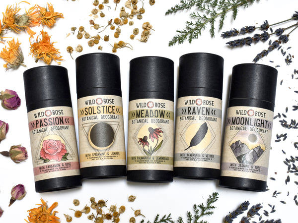 Introducing: Botanical Deodorants from Wild Rose!