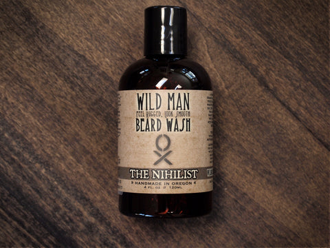 Beard Wash Soap Wild Man - The Nihilist Unscented