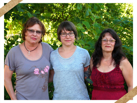 Mary, Ash and Maureen - Wild Rose Herbs