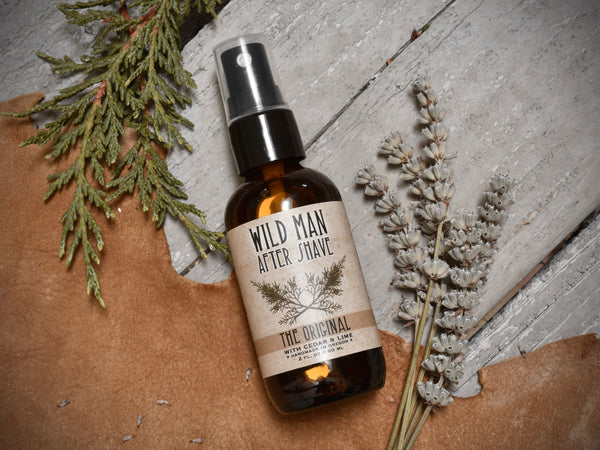 Wild Man After Shave - The Original