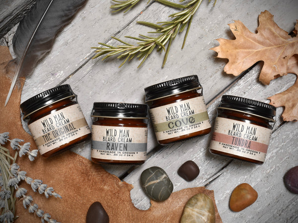 Wild Man Beard Cream - Sampler Pack
