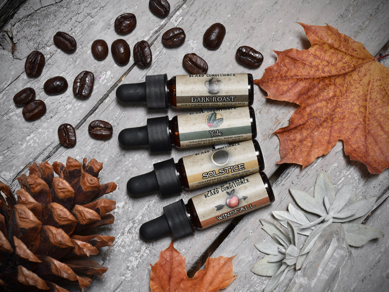 Wild Man Beard Oil Conditioner - Holiday Sampler Set