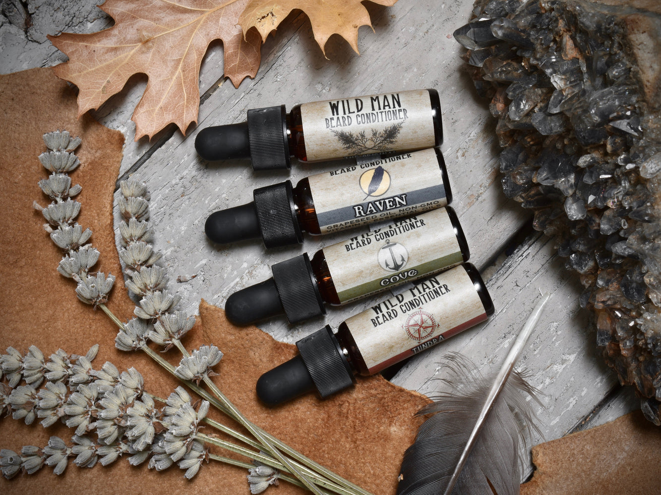 Wild Man Beard Oil Conditioner - Trial Size Sampler Pack