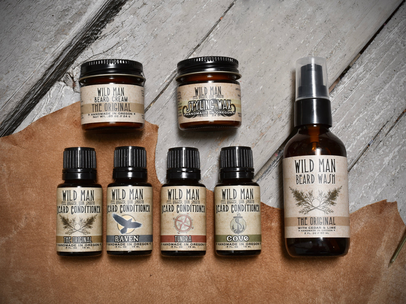 Wild Man - The Complete Beard Grooming Gift Set