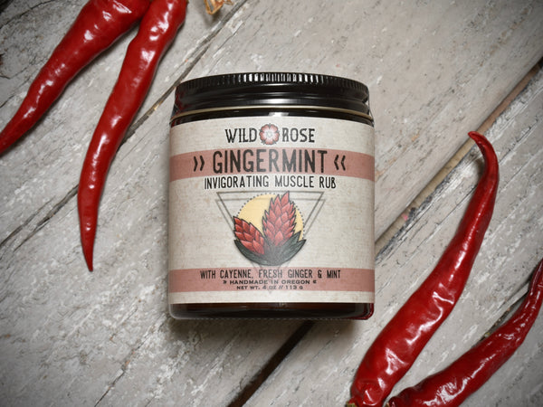 Gingermint - Invigorating Muscle Rub