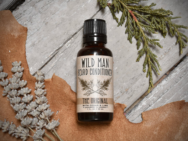 Wild Man Beard Oil Conditioner - The Original