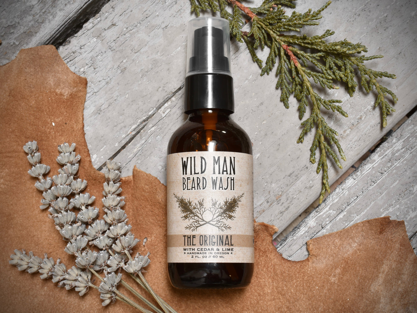 Wild Man Beard Wash - The Original