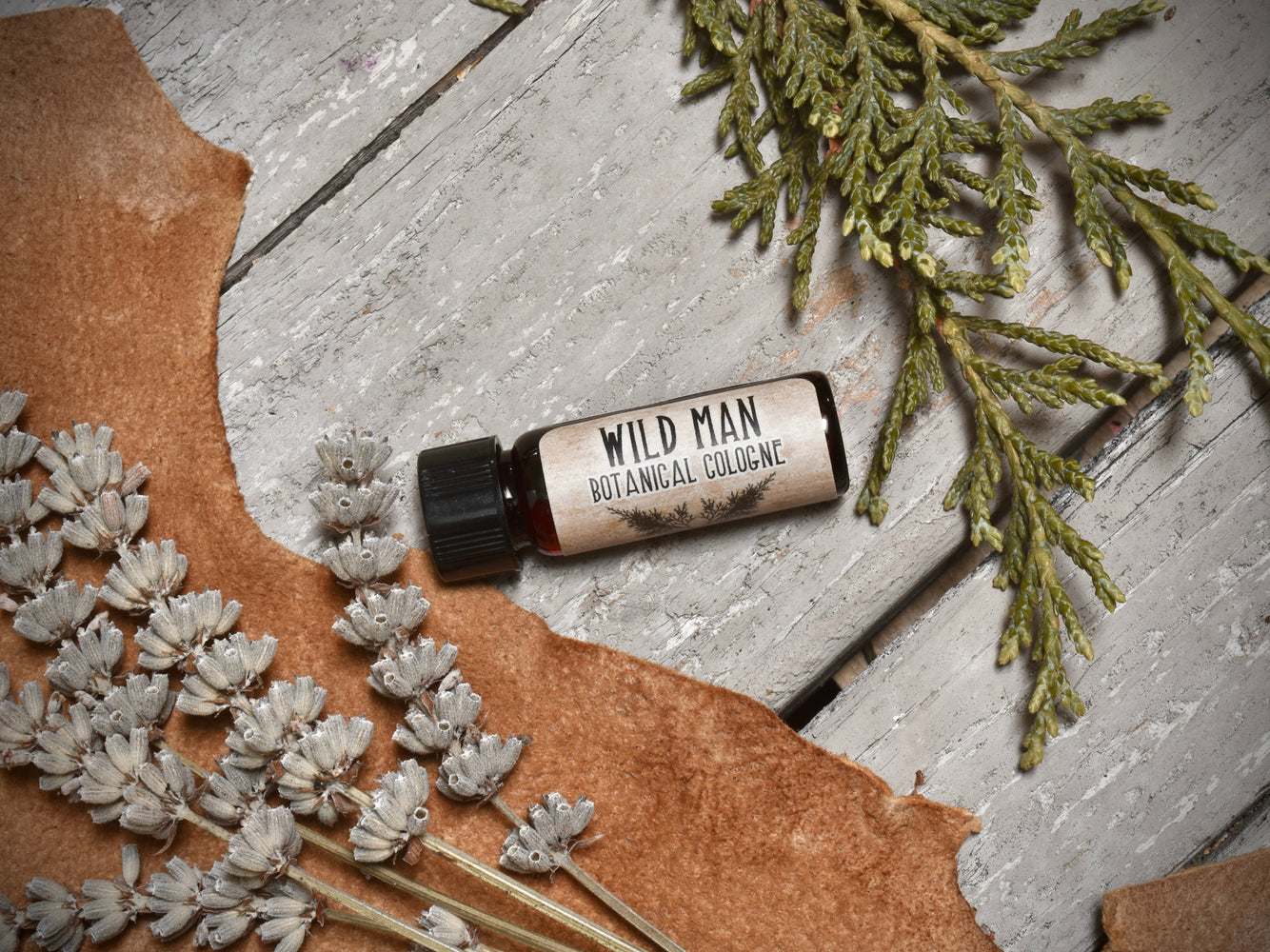 Wild Man All Natural Cologne - The Original