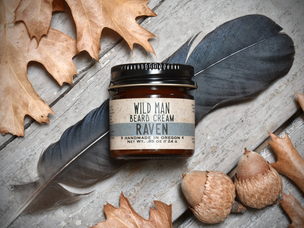 Wild Man Beard Cream - Raven