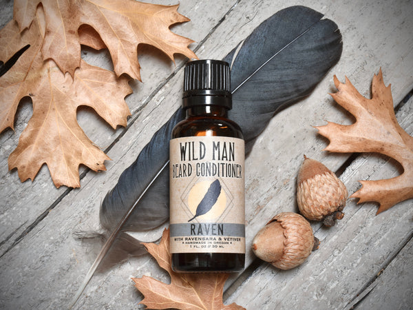 Wild Man Beard Oil Conditioner - Raven