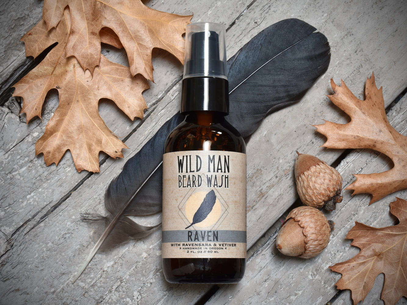 Wild Man Beard Wash - Raven