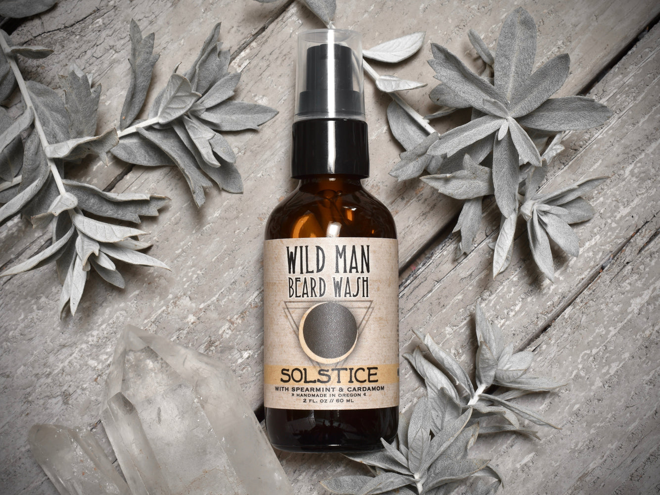 Wild Man Beard Wash - Solstice