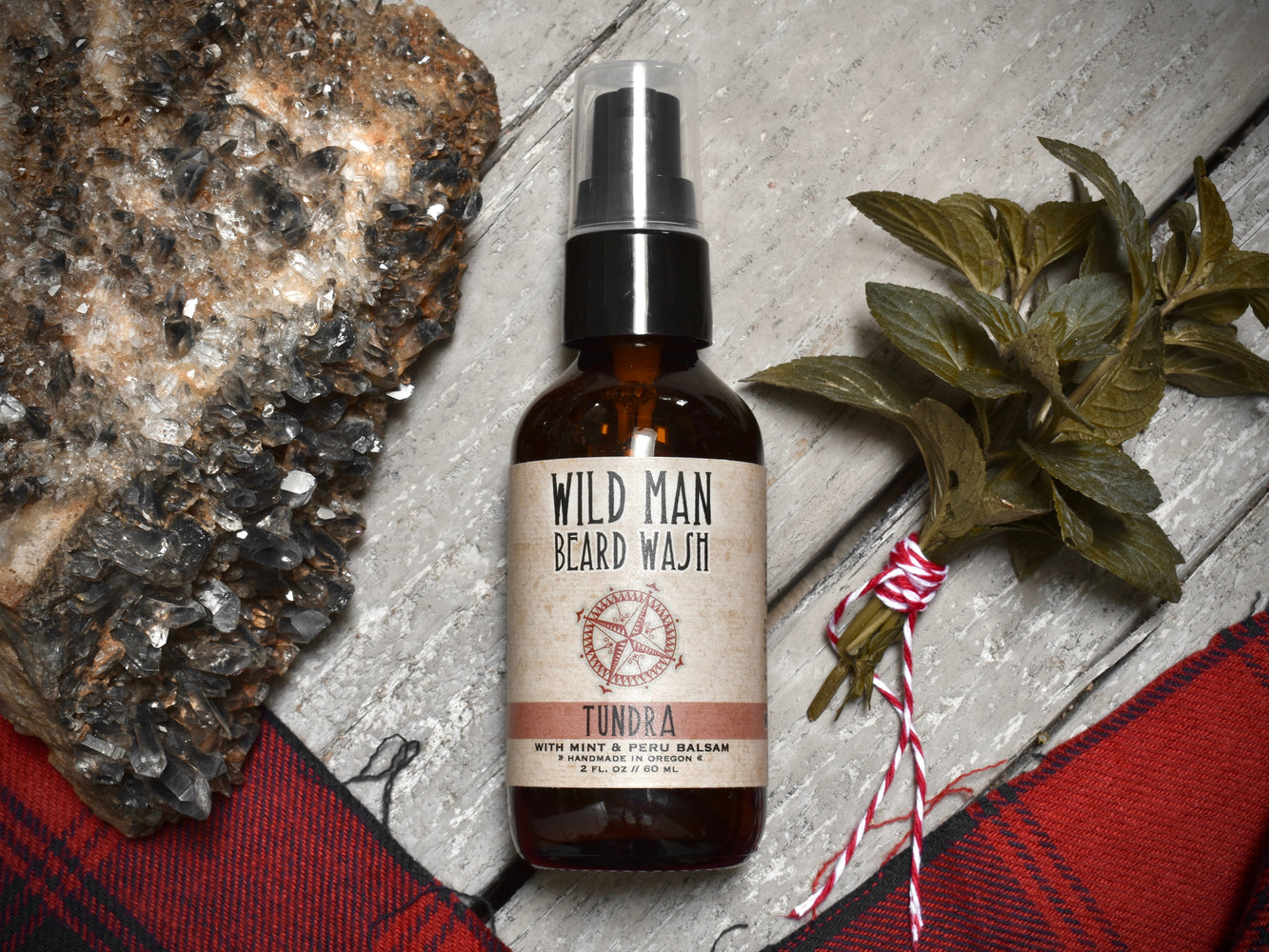 Wild Man Beard Wash - Tundra