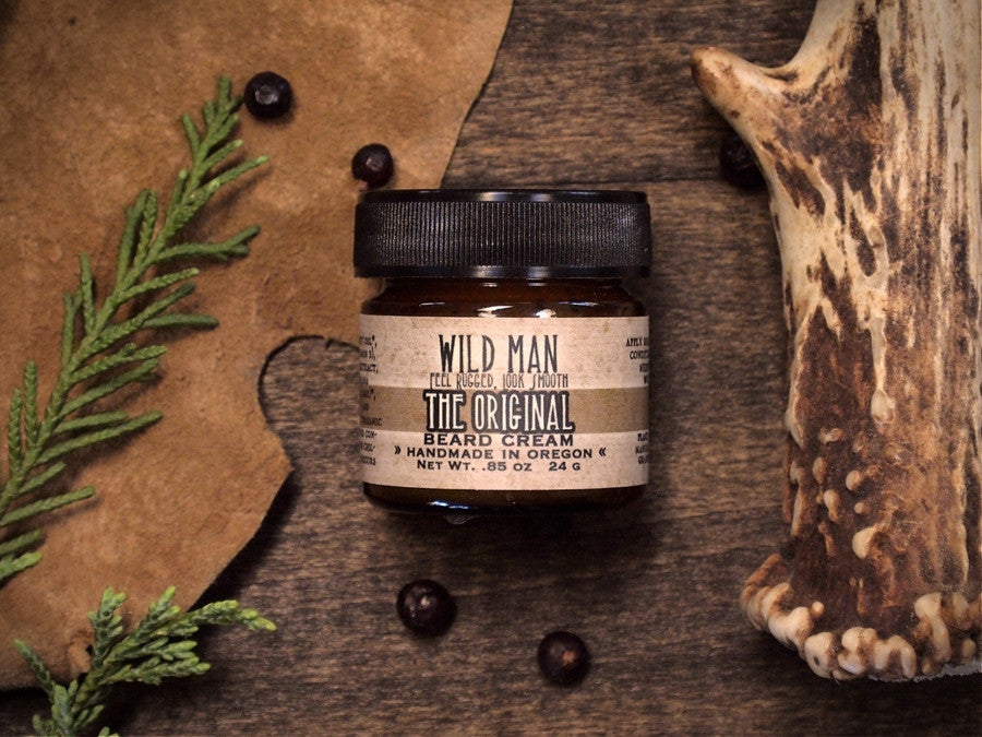 Image of Wild Man Beard Cream - The Original - Wild Rose Herbs - 1
