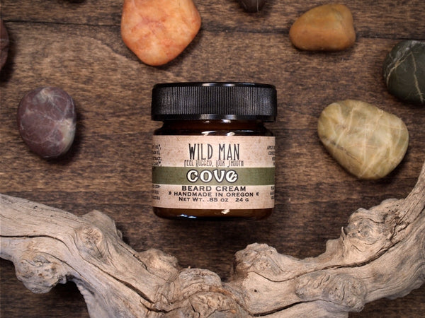 Image of Wild Man Beard Cream - Cove - Wild Rose Herbs - 1