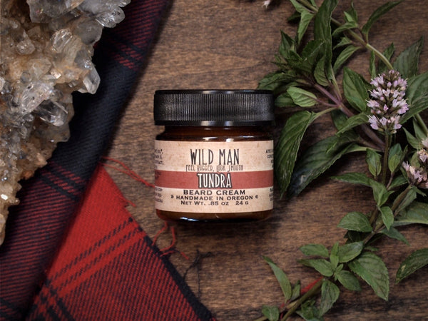 Image of Wild Man Beard Cream - Tundra - Wild Rose Herbs - 1